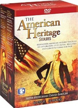 American Heritage 10 DVD Boxed Set