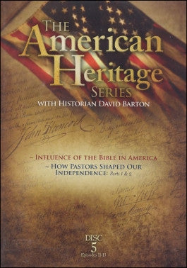 American Heritage Collection #5: The Influence Of The Bible on America DVD