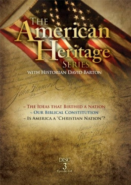 The American Heritage Series #3: Ideas that Birthed a Nation DVD