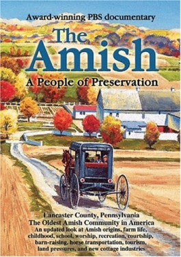 The Amish: A People of Preservation DVD