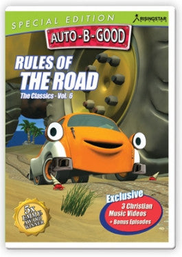 Auto B Good Season 1 Vol 6: Rules Of The Road DVD