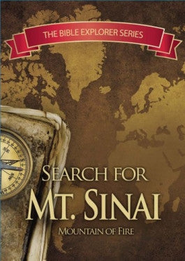 In Search of Mt. Sinai: The Bible Explorer Series DVD