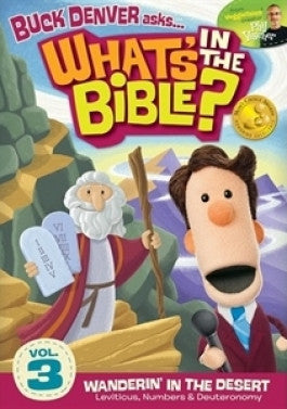 Buck Denver Asks Whats in the Bible? Vol 3 Wandering in the Desert DVD