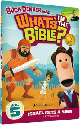 Buck Denver Asks Whats in the Bible? Vol 5: Israel Gets A King DVD