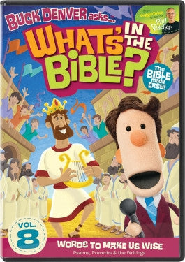 Buck Denver Asks Whats in the Bible? Vol 8: Words To Make Us Wise DVD