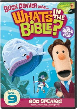 Buck Denver Asks Whats in the Bible? Vol 9: God Speaks DVD