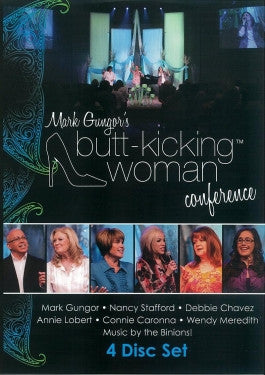 Butt-Kicking Woman Conference with Mark Gungor 4 Disc DVD