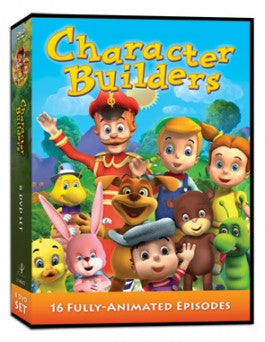 Character Builders DVD Set 16 Fully-Animated Episodes