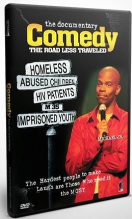 Michael Jr's The Documentary Comedy: The Road Less Traveled DVD