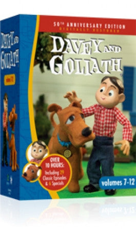 Davey and Goliath Volumes 7-12 DVD set