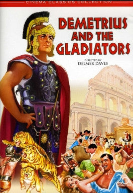 Demetrius and the Gladiators DVD