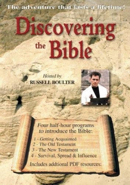 Discovering the Bible  with PDF Curriculum DVD