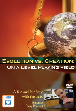 Evolution vs. Creation On A Level Playing Field DVD