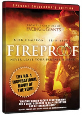 No 1 Inspirational Movie of the Year Fireproof Kirk Camron Erin Bethea, Never Leave Your Partner Behind