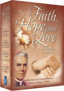 Bishop Fulton J. Sheens Faith Hope and Love DVD Boxed Set