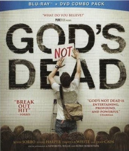 Gods Not Dead Bluray/DVD Combo