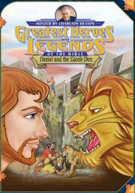 Greatest Heroes and Legends of the Bible: Daniel and the Lions Den DVD
