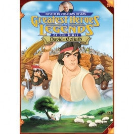 Greatest Heroes and Legends of the Bible: David and Goliath DVD