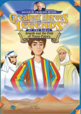 Greatest Heroes and Legends of the Bible: Joseph and the Coat of Many Colors DVD