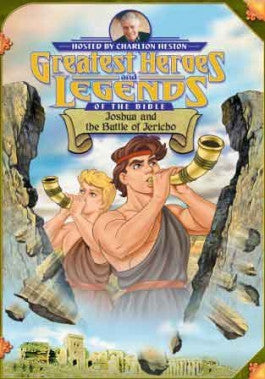 Greatest Heroes and Legends of the Bible: Joshua and the Battle of Jericho DVD