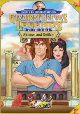 Greatest Heroes and Legends of the Bible: Samson and Delilah DVD