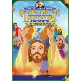 Greatest Heroes and Legends of the Bible: The Miracles of Jesus DVD