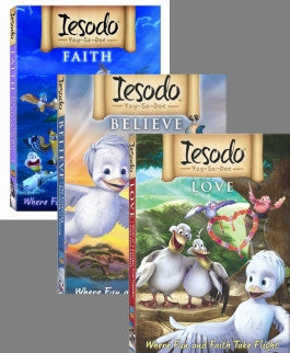 Iesodo 3 DVD set