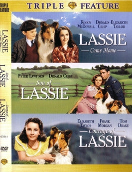 Lassie Triple Feature 2 DVD Set