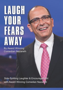Laugh Your Fears Away with Comedian Nazareth DVD