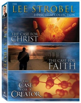 The Lee Strobel Collection: Case for Creator/Faith/Christ 3 DVD Set