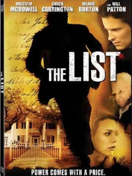 The List: Power Comes With A Price DVD