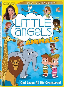 Little Angels: Animals DVD