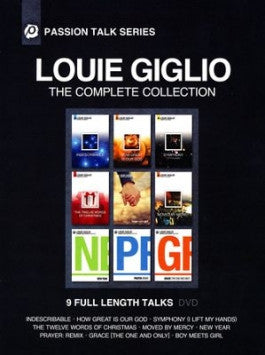 Louie Giglio: The Complete Collection 6 DVD Set