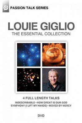 Louie Giglio: The Essential Collection 4 DVD Set