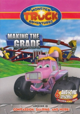 Monster Truck Adventures: Making The Grade DVD