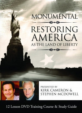 Kirk Cameron's Monumental: Restoring America as the Land of Liberty 4 DVD Set