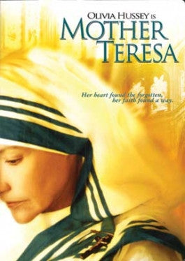Olivia Hussey is Mother Teresa Theatrical Release DVD