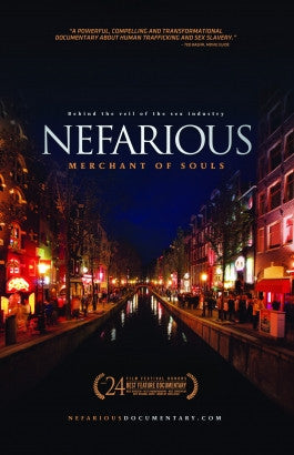Nefarious: Merchant of Souls DVD