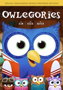 Owlegories Vol 1: The Sun - The Seed - The Water -DVD