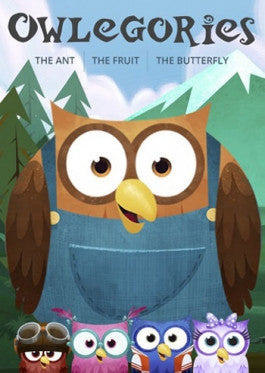 Owlegories Vol 2 - The Ant - The Fruit - The Butterfly - DVD