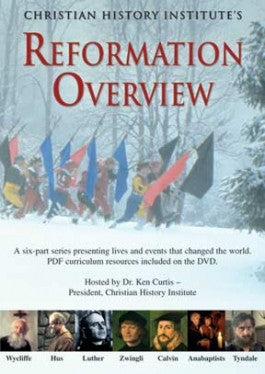 Reformation Overview DVD with PDFs