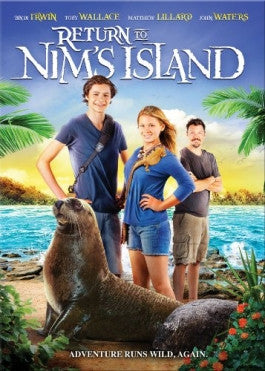Return To Nims Island Bluray DVD Combo