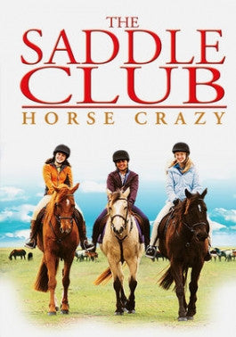 The Saddle Club: Horse Crazy DVD