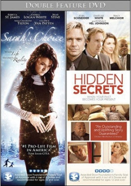 Sarah's Choice/Hidden Secrets 2 DVD set