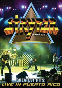 Stryper: Greatest Hits DVD Puerto Rico