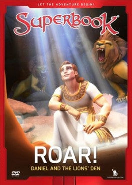 Superbook: Roar! Daniel and the Lions Den DVD