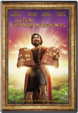 The Ten Commandments Animated DVD