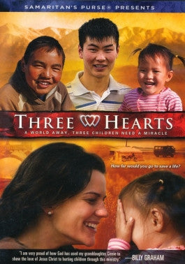 Three Hearts DVD
