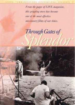 Through Gates of Splendor DVD