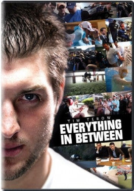 Tim Tebow: Everything In Between DVD